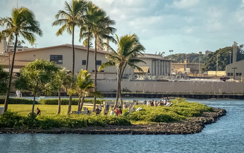 Pearl Harbor Visitor Center Shorline Promenade