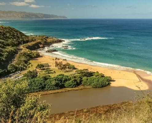 Oahu Island Tour At Waimea Bay