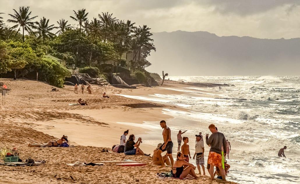 North Shore Beaches Sunset Locals