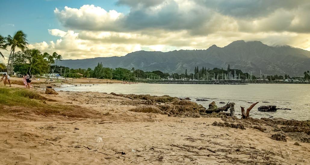 North Shore Ohau Beaches Alii Beach at Haleiwa