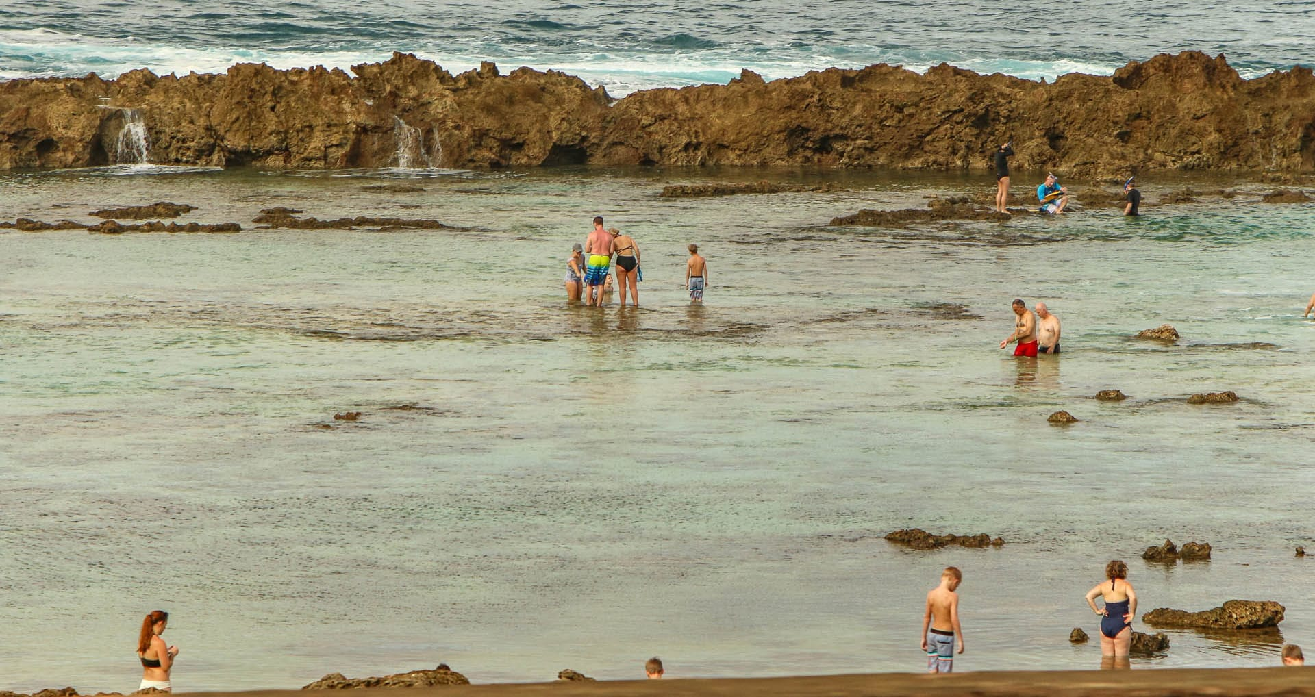 North Shore Tide Pools Oahu