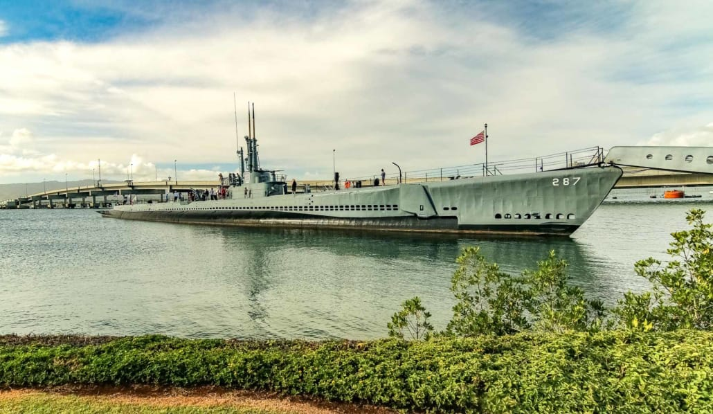 USS Bowfin Submarine and Grounds at Pearl Harbor