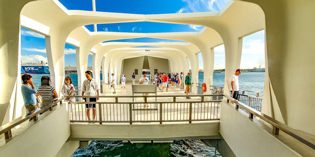 Arizona Memorial Viewing Deck and Portal