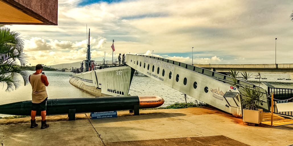Pearl Harbor Bowfin Submarine