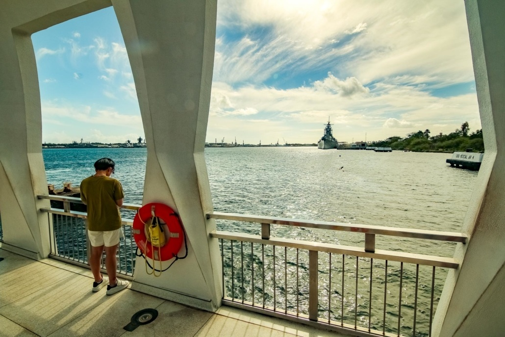 Arizona Memorial Visitor and USS Missouri
