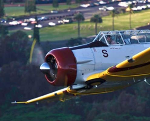 Pearl Harbor Vintage Warbird Flight