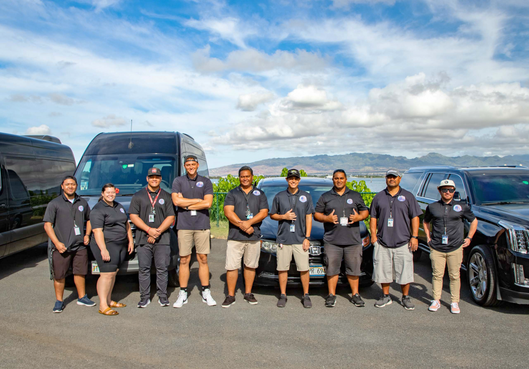 Guides for Pearl Harbor Tours Vans