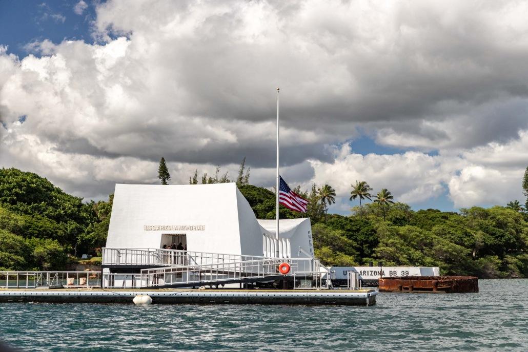 Arizona Memorial Pearl Harbor Oahu