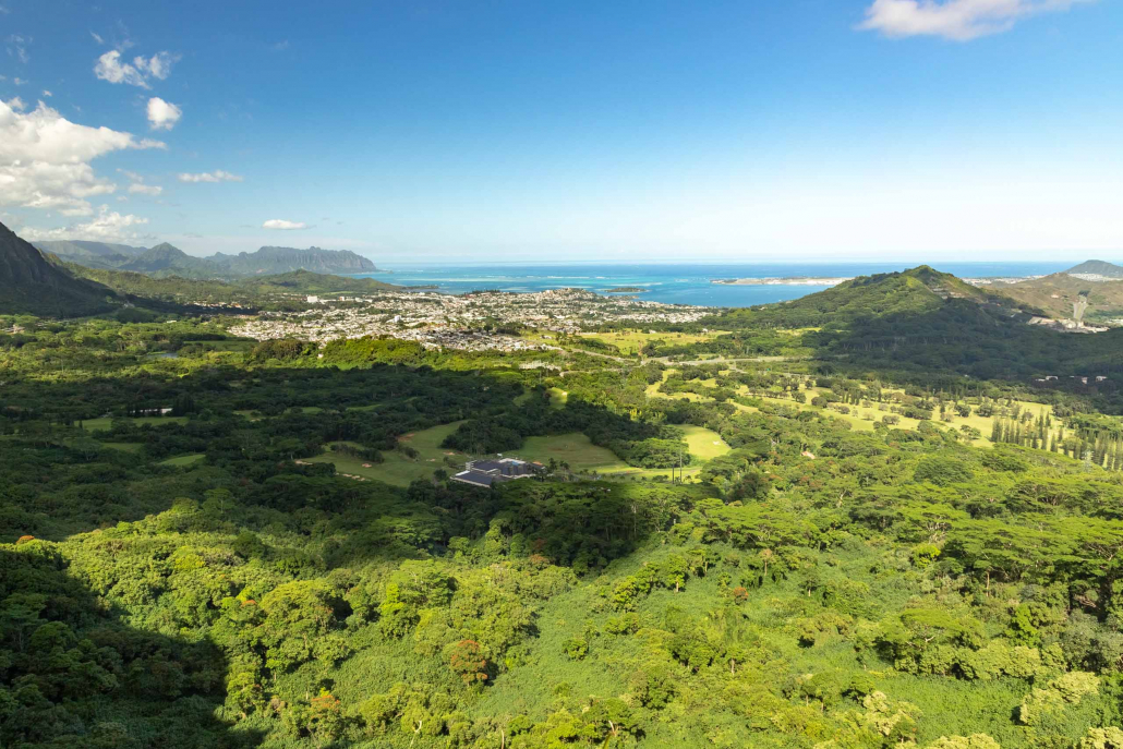 Nuuanu Overlook View of Oahu