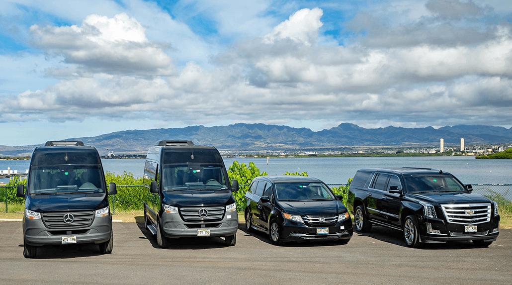 Private Pearl Harbor Tour Vehicles