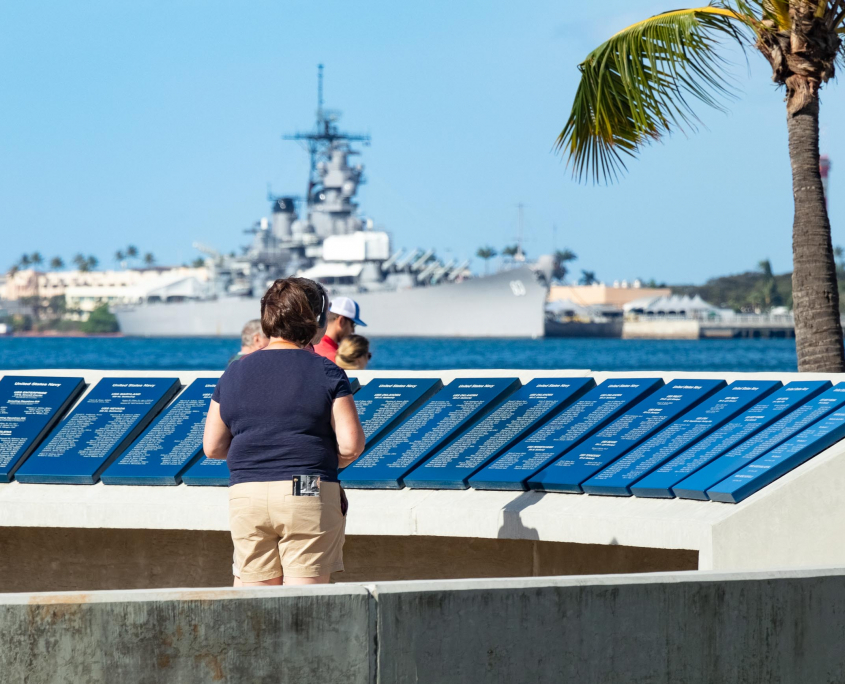 Pearl Harbor Visitor Center Visitor and USS Missouri Oahu