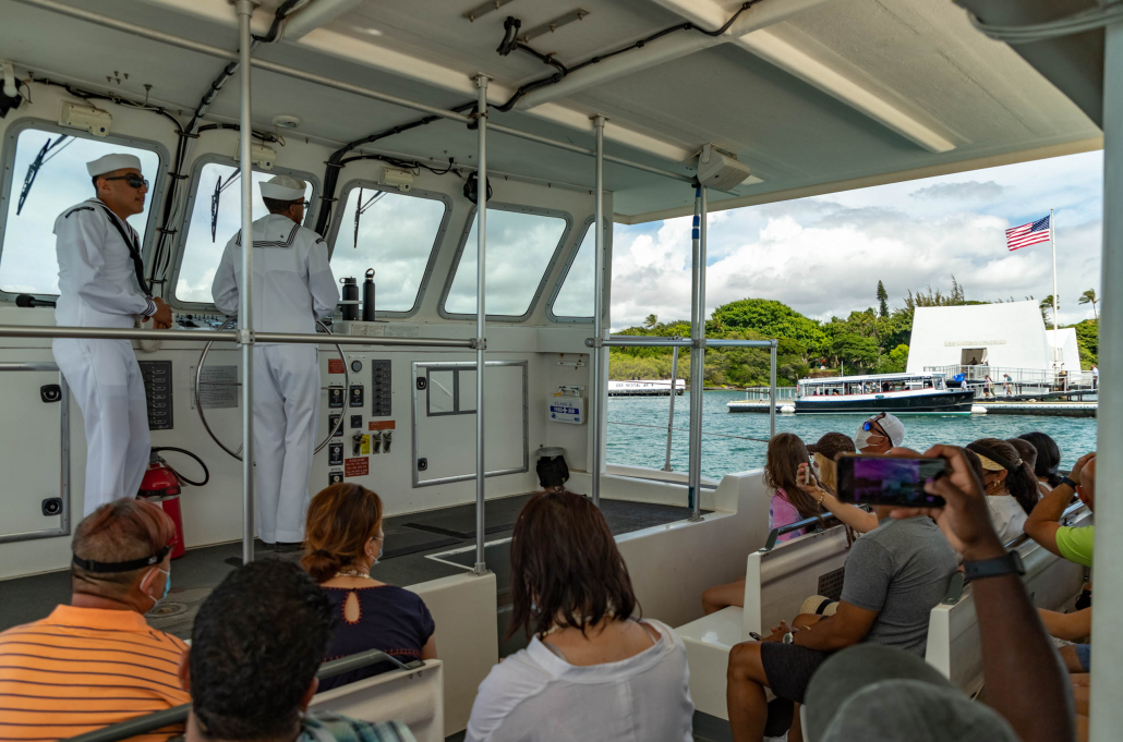 Arizona Memorial Boat Ride and Memorial Pearl Harbor Oahu