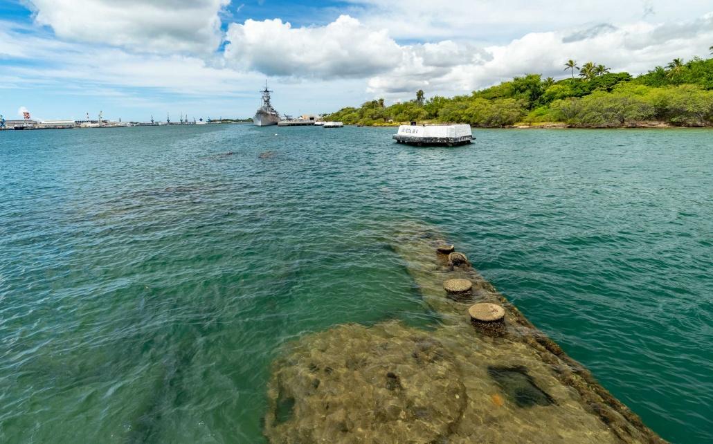 Arizona Memorial Ship Ruins and Missouri Pearl Harbor Oahu