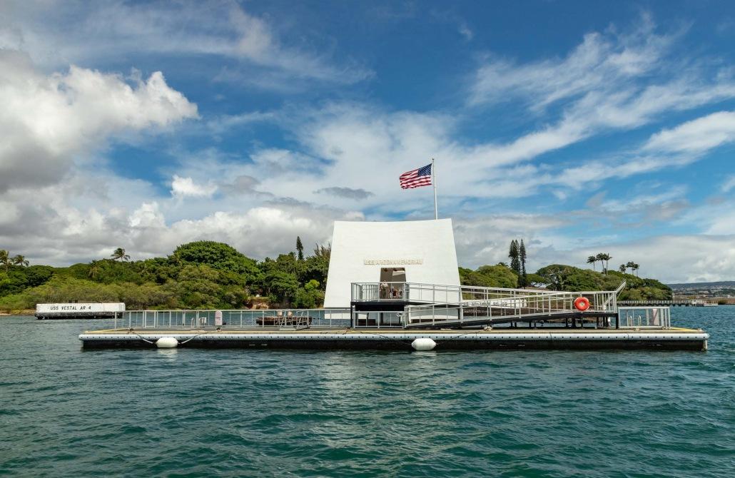 Arizona Memorial and Dock Pearl Harbor Oahu