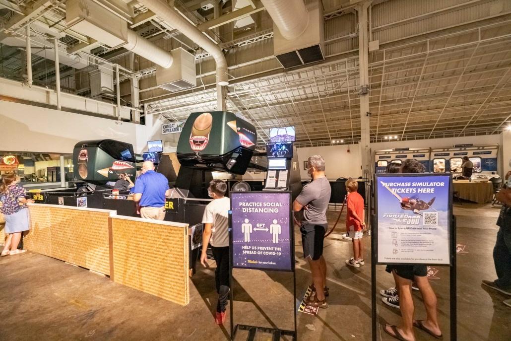 Pearl Harbor Aviation Museum Flight Simulators Oahu
