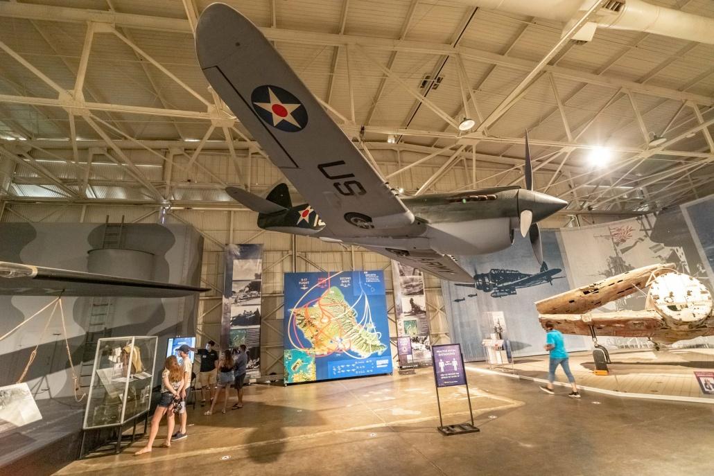 Pearl Harbor Aviation Museum P-40 Oahu