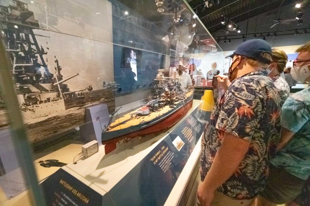 Pearl Harbor Visitor Center Museums Arizona Model Oahu